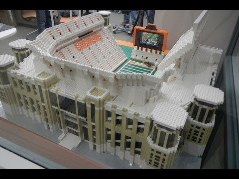DKR Legos: Building the Stadium with 60,000 Legos