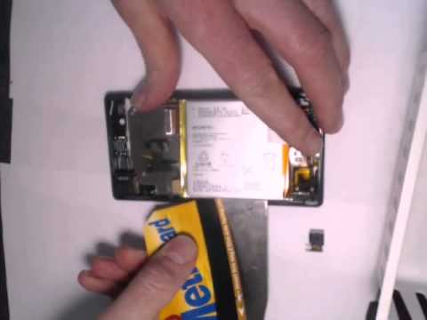Sony Experia Z   How to take out the battery