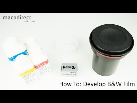How To: Develop Black and White Film
