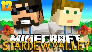 Minecraft: STARDEW VALLEY   BUYING A HELICOPTER?! #12