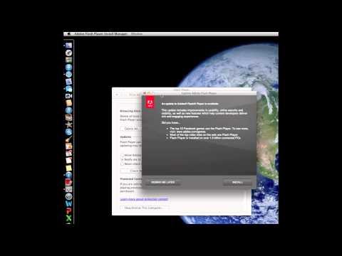 Adobe Flash Player Update Mac OS X