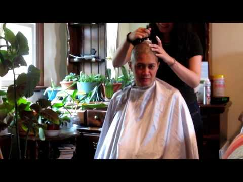 Shaving my head for St. Baldricks Foundation to help find cure for childhood cancers...