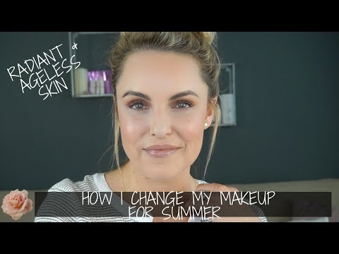 How I Change My Makeup for Summer To Get A Natural, Ageless Look
