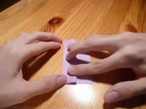 How to make an origami arabesque