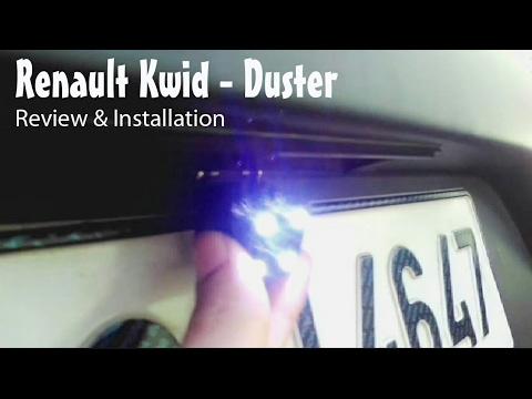Night Vision Rear view Camera for Renault Kwid,Duster,Captur Medianav