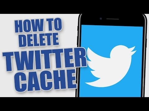 How To Delete Twitter Cache Storage on iOS
