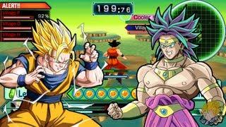 Dragon Ball Z Shin Budokai 2 - Combo Tutorial