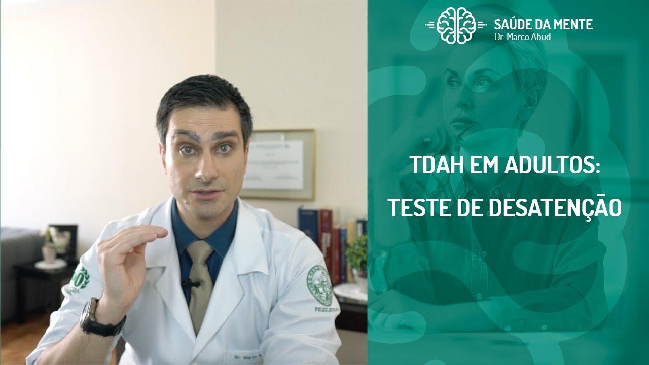 TDAH EM ADULTOS  - TESTE DE DESATENÇÃO