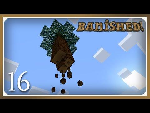 Minecraft Banished Modpack | 1.3.2 Update | E16 (Harsh Survival Minecraft 1.10.2)