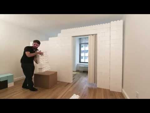 How to turn a one bedroom into a two bedroom in 20 minutes