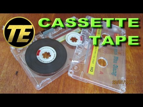 Cassette - How to clean a cassette tape