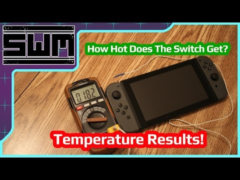 How Hot Does The Nintendo Switch Get? Temperature Results!