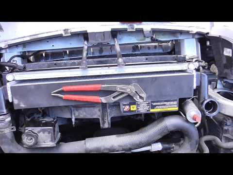 2006 Jeep Grand Cherokee radiator replacement