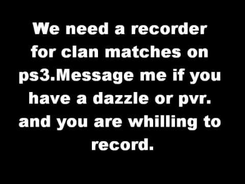 Need a recorder