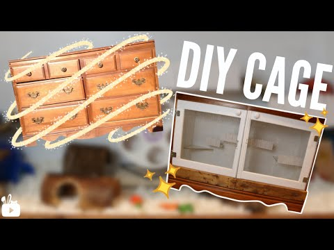 NEW DIY HAMSTER CAGE