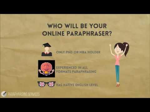 Online Paraphraser