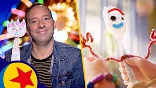 Make a Friend With Tony Hale | Pixar
