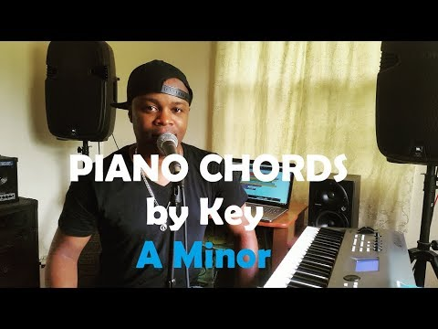 Chords in the Key of A Minor - Piano Lesson