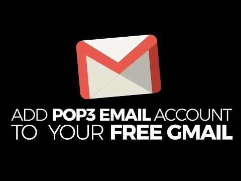 Add a POP3 Email to your Free Gmail Account