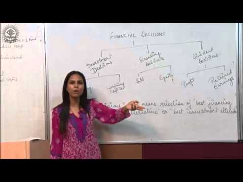 Introduction of Financial Decisions and Financing DecisionsClass XII Bussiness Studies by Dr  Heena
