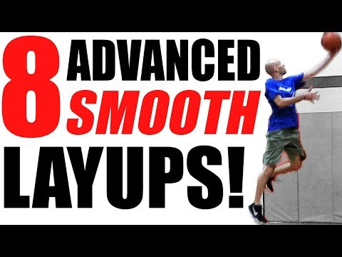 BEYOND Jelly Layups: 8 SMOOTH Advanced Finishes At The Rim!