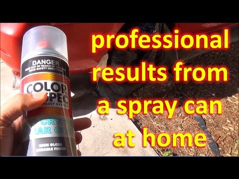 How to PAINT a car with SPRAY CANS - Part 1