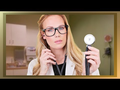 ASMR Heart Exam @ Doctor Clarck (personal attention role play)