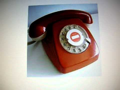 1960 phone ring