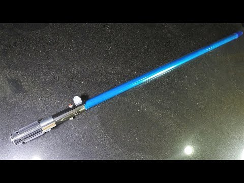 Star Wars: How to Make the Skywalker lightsaber blade - The Last Jedi for $5