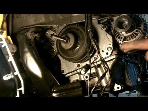 Mini Cooper S - R53 Installing vibration damper