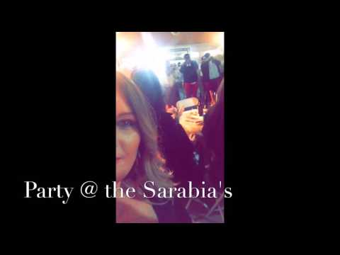 Party at the Sarabia's 2/27/16