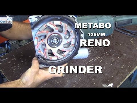 Tool Review - Metabo 125mm Renovation Grinder