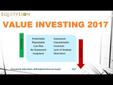 Value investing strategy 2017: How to become a better investor ?