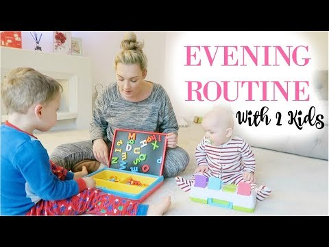 EVENING ROUTINE WITH 2 KIDS | COLLAB WITH MUMMA IZZO | MRS SMITH & CO.