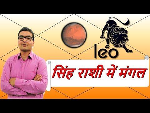 सिंह राशि में मंगल के परिणाम (Mars In Leo) | ज्योतिष (Vedic Astrology) | हिंदी (Hindi)
