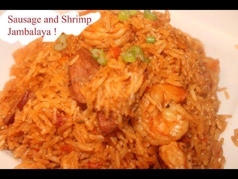 Shrimp and Sausage Jambalaya !!