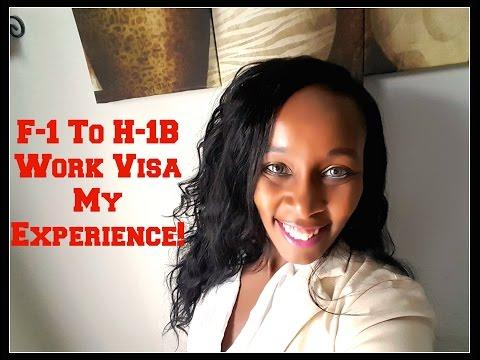 F1 Student Visa to H1-B Work Visa - My Experience