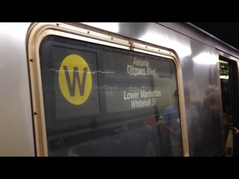 On-Board a Whitehall St bound R68A (W) Train from Queensboro Plaza to Lexington Av-59th St