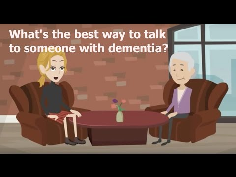 How Do I Talk to Someone With Dementia?