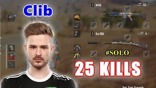Team Liquid Clib - 25 KILLS - M416 + Kar98k - SOLO - PUBG