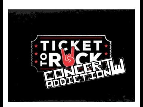 Live Nation Announces Ticket to Rock Concert Bundle