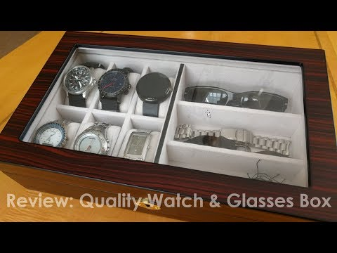 Watch Box Display Case (Review)