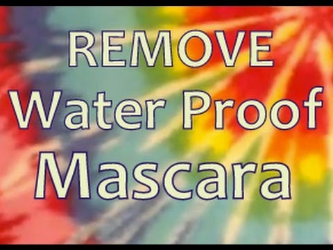 HowTo: Remove WaterProof Mascara Fast!