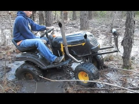 Poulan Dually Update and Trail / Mud Ride