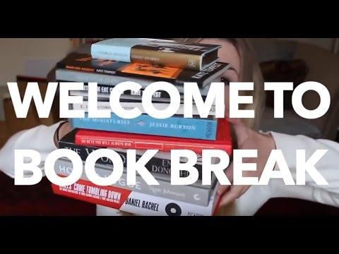 WELCOME TO #BOOKBREAK