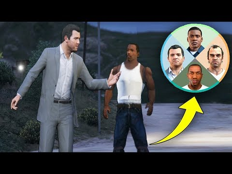 This Easter Egg Proves CJ is in GTA 5