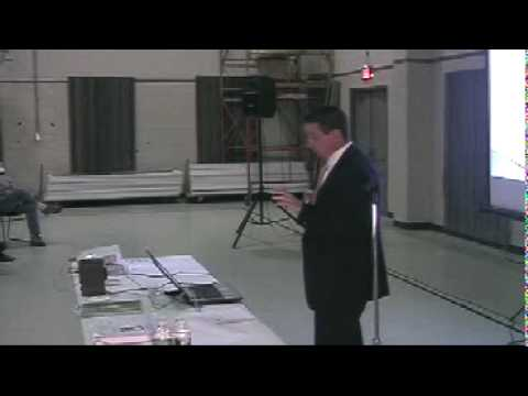 Gas and Oil Drilling (Marcellus Shale) Public Meeting in Midway - Fort Cherry Pt 6