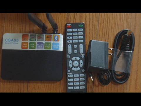 CSA93 Android TV Box Unboxing & Review - Octa core, 3GB DDR3, and 32GB Storage!!!