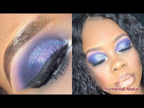 Full Glam Makeup Tutorial:  Mermaid Vibes!! | Jamiiiiiiiie
