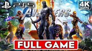 MARVEL'S AVENGERS BLACK PANTHER PS5 Gameplay Walkthrough Part 1 FULL GAME [4K 60FPS] - No Commentary